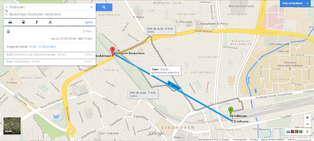 New Google Maps Public Transportation integration
