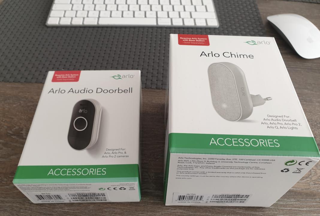 Arlo Audio Doorbell Deurbel en Arlo Chime